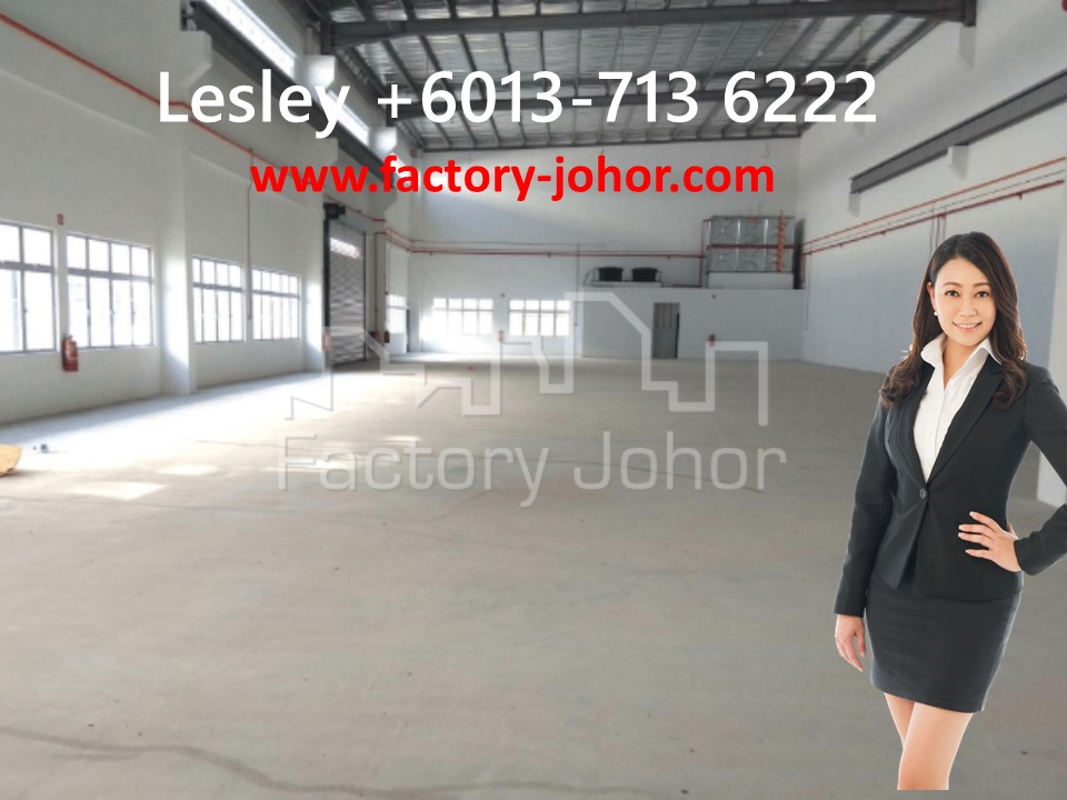 Semi-Detached Factory with 2 Mezzanine office at Nusajaya