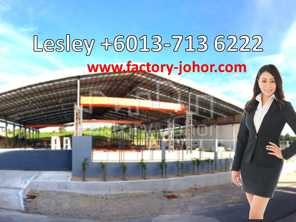 Detached open shade Factory with 3 storey office at Senai