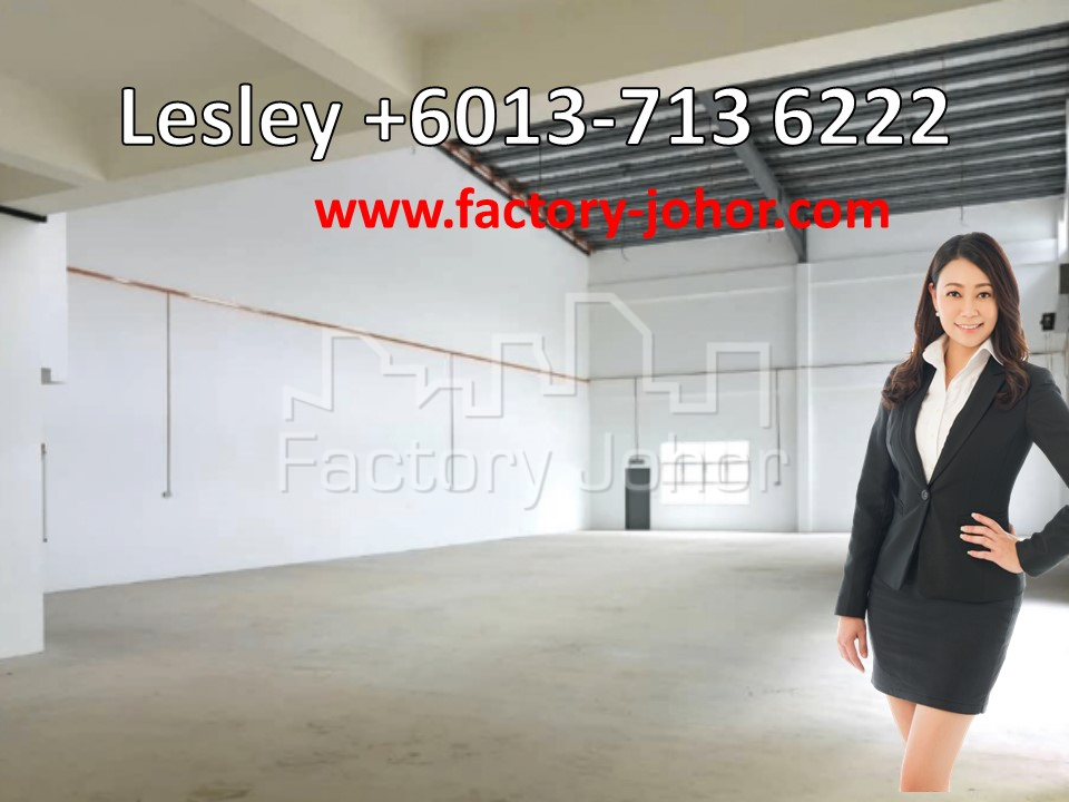 Detached Factory with Mezzanine floor at Desa Cemerlang
