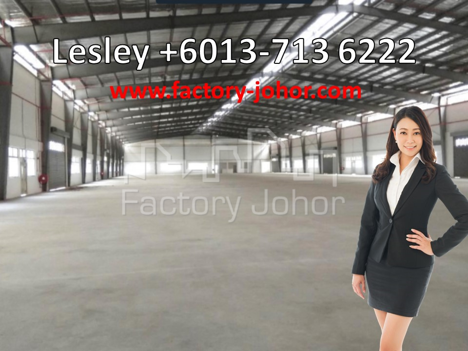 Factory at Nusa Cemerlang Industrial Park, Nusajaya (BUA: 83k sqft)