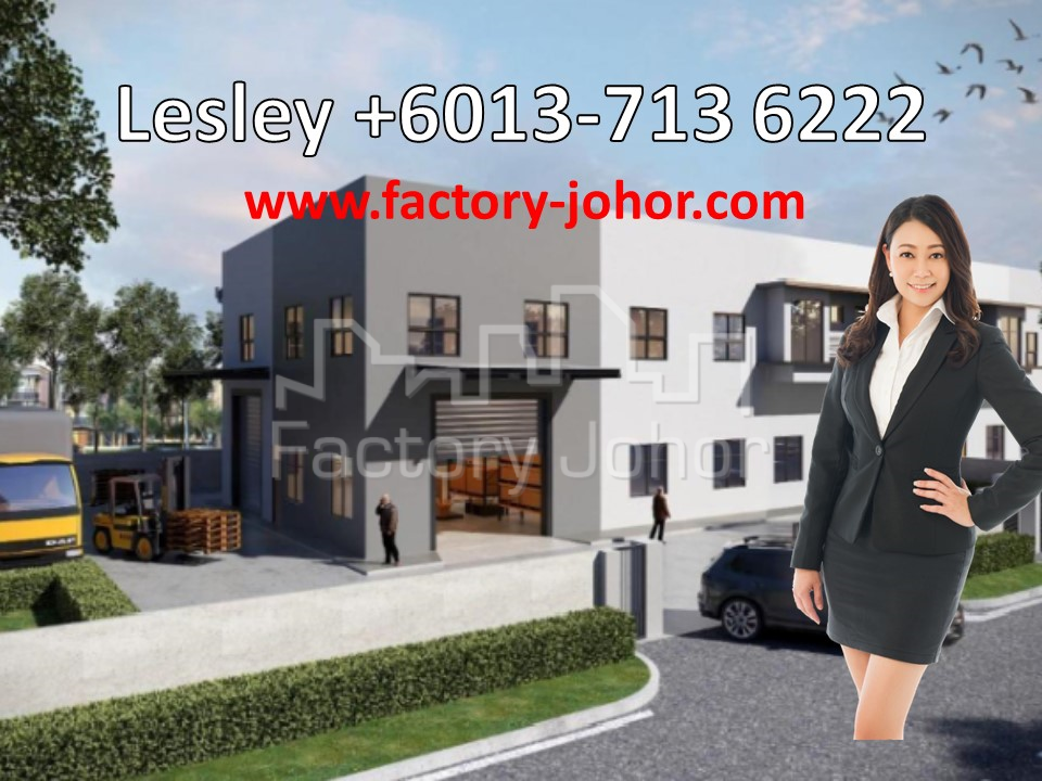 Semi-Detached Factory for Sale [-10%+10%(early bird till end of April 2019) BUA: 5.5k]
